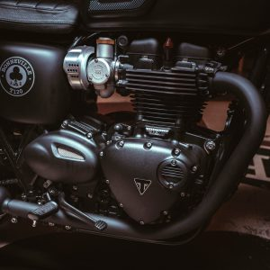 2019 Triumph Bonneville T120 Ace engine