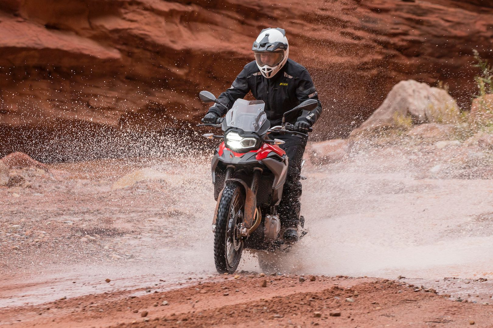 2019 BMW F 850 GS water crossing