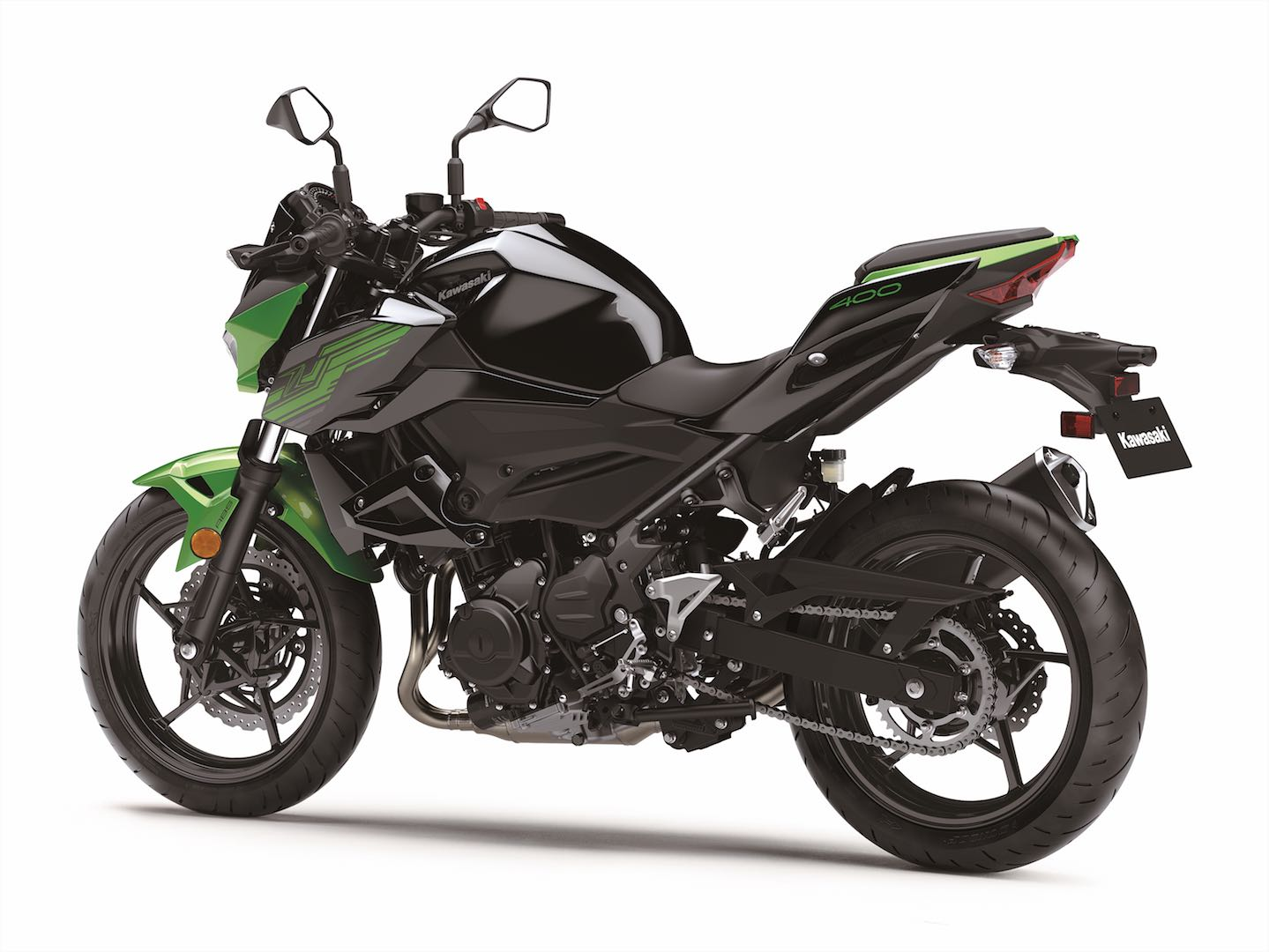 2019 Kawasaki Z400 ABS left side