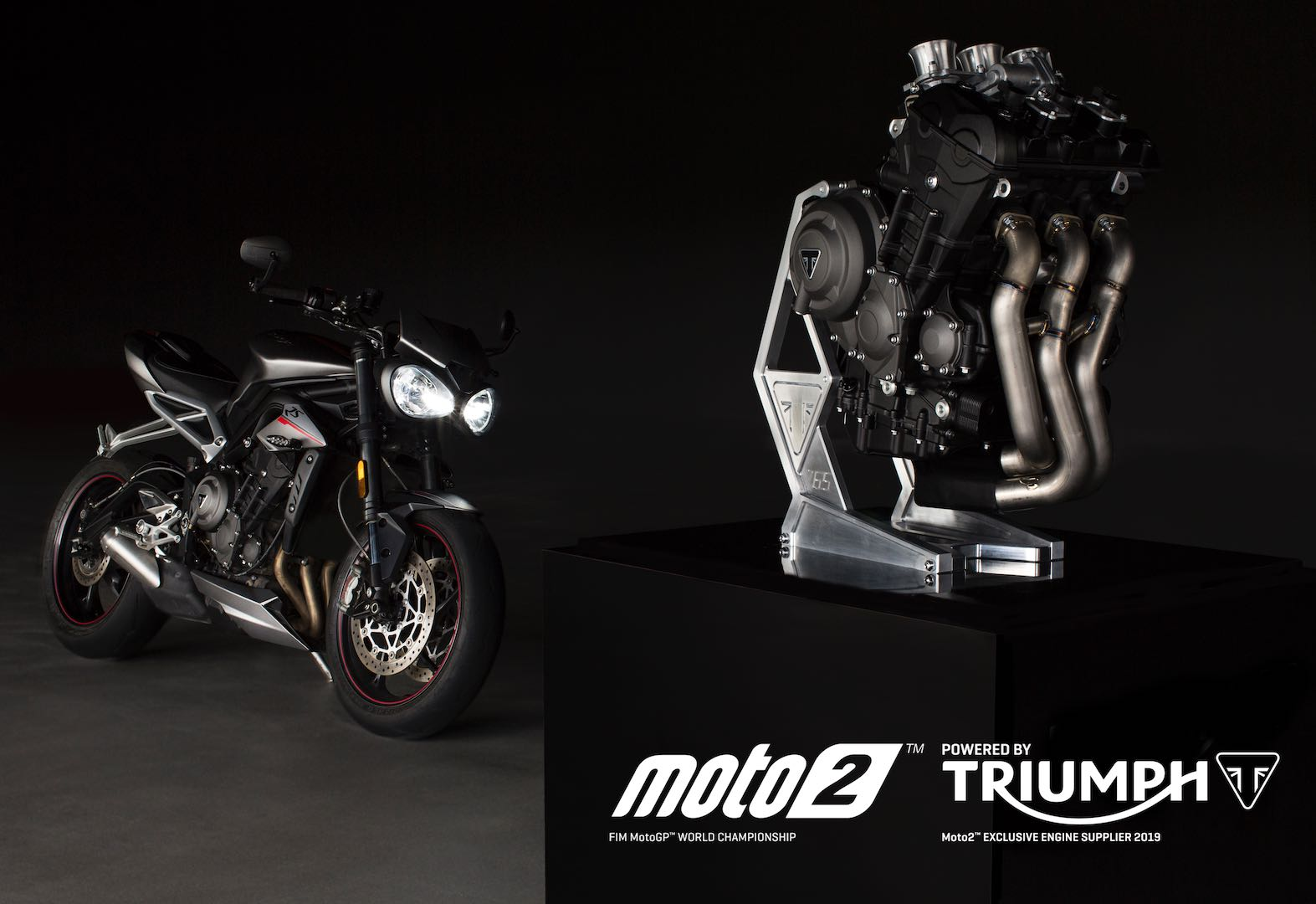 Triumph Moto2 Triple Race Engine specs
