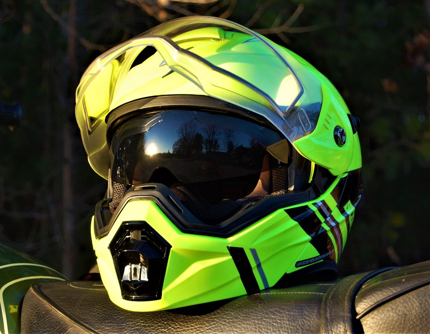 Scorpion EXO-AT950 Teton Modular Helmet test