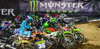 2109 Supercross Cable and Streaming Television Schedule
