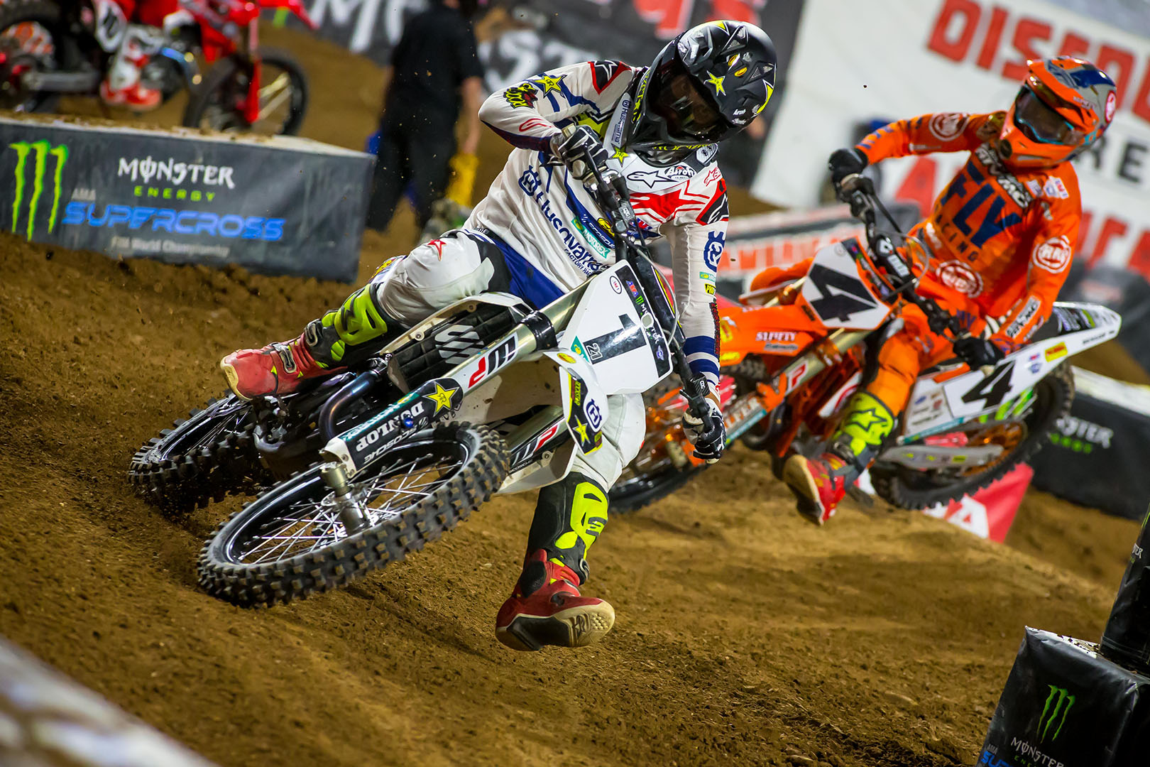 2019 Glendale Supercross Results and Coverage - Jason Anderson and Blake Baggett