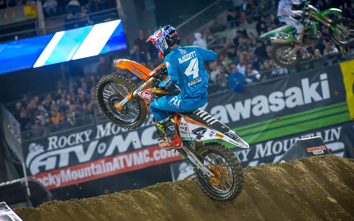 2019 Oakland Supercross Results and Coverage - Blake Baggett.