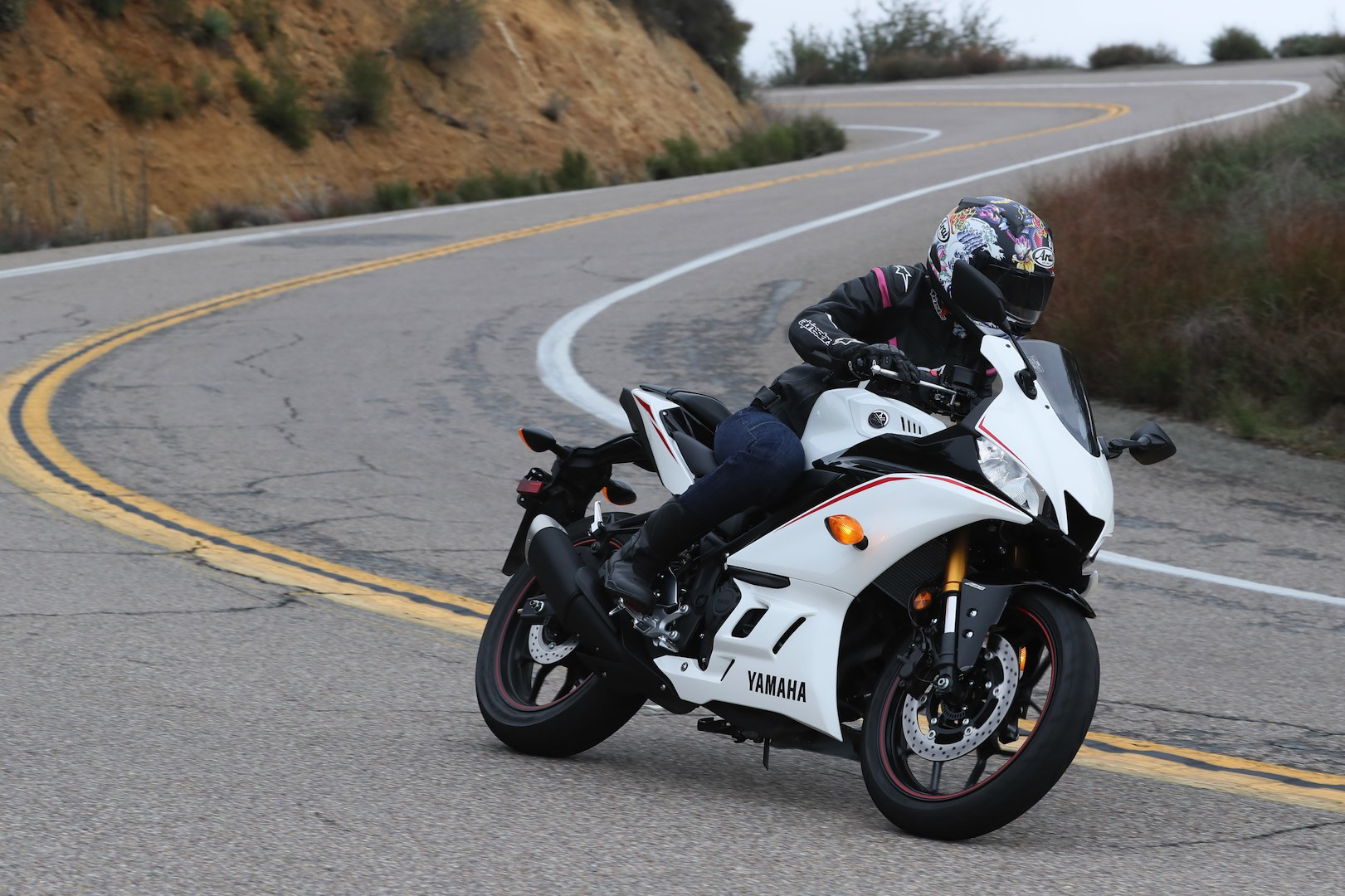 2019 Yamaha YZF-R3 street review