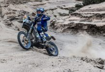2019 Dakar Rally Stage 3 Results, Motorcycles: Yamaha's Soultrait Wins