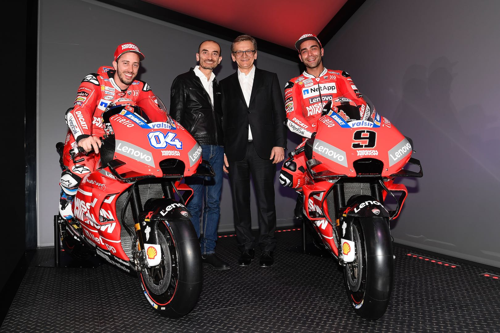 Mission Winnow Ducati MotoGP Team Dovi and Petrucci