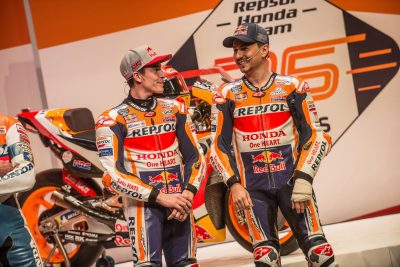 Marquez and Lorenzo 2019 MotoGP Launch