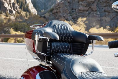 2019 Indian Roadmaster Elite luxury touring seat