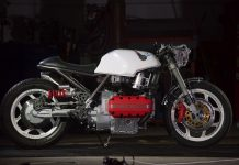 Custom BMW K 100: Gabi Nicolae's The Mechanik engine