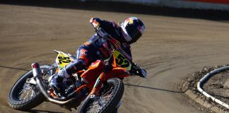 Red Bull KTM Factory Racing Flat Track Media Day Shayna Texter