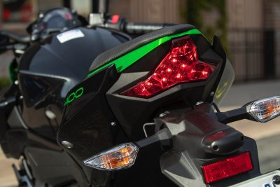 2019 Kawasaki Z400 ABS rear brake light