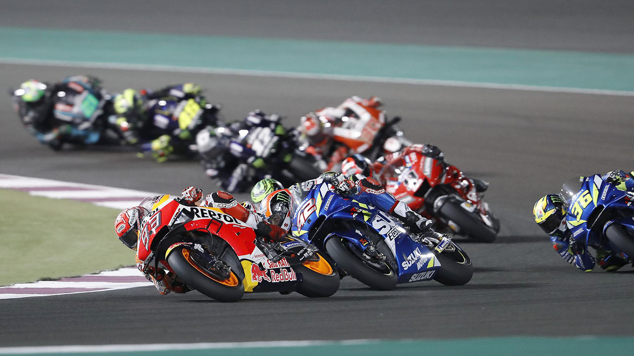 2019 Qatar MotoGP Coverage and Results - Pack 2