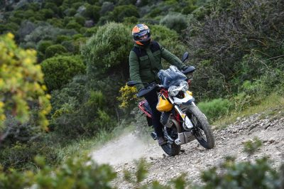 2020 Moto Guzzi V85 TT Adventure Review - Off-road