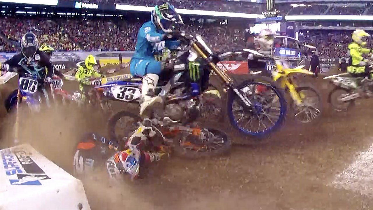 2019 E. Rutherford New Jersey Supercross Results and Coverage - Marvin Musquin