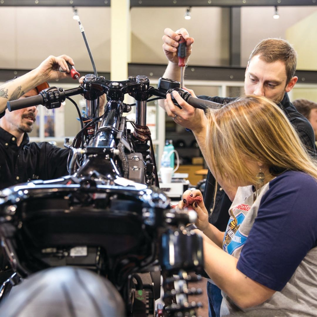 Harley Unites with Trade Schools for 'Battle of the Kings'