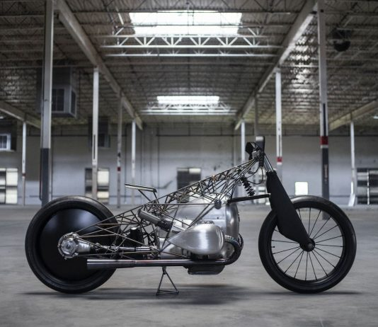 Revival Cycles BMW Birdcage motorcycle