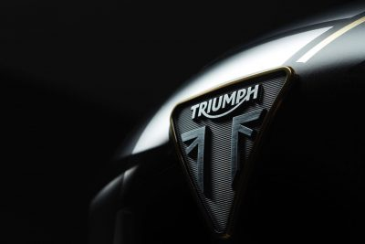 2019 Triumph Rocket 3 TFC Triumph badge