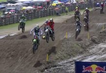 Florida National Moto 2 Start