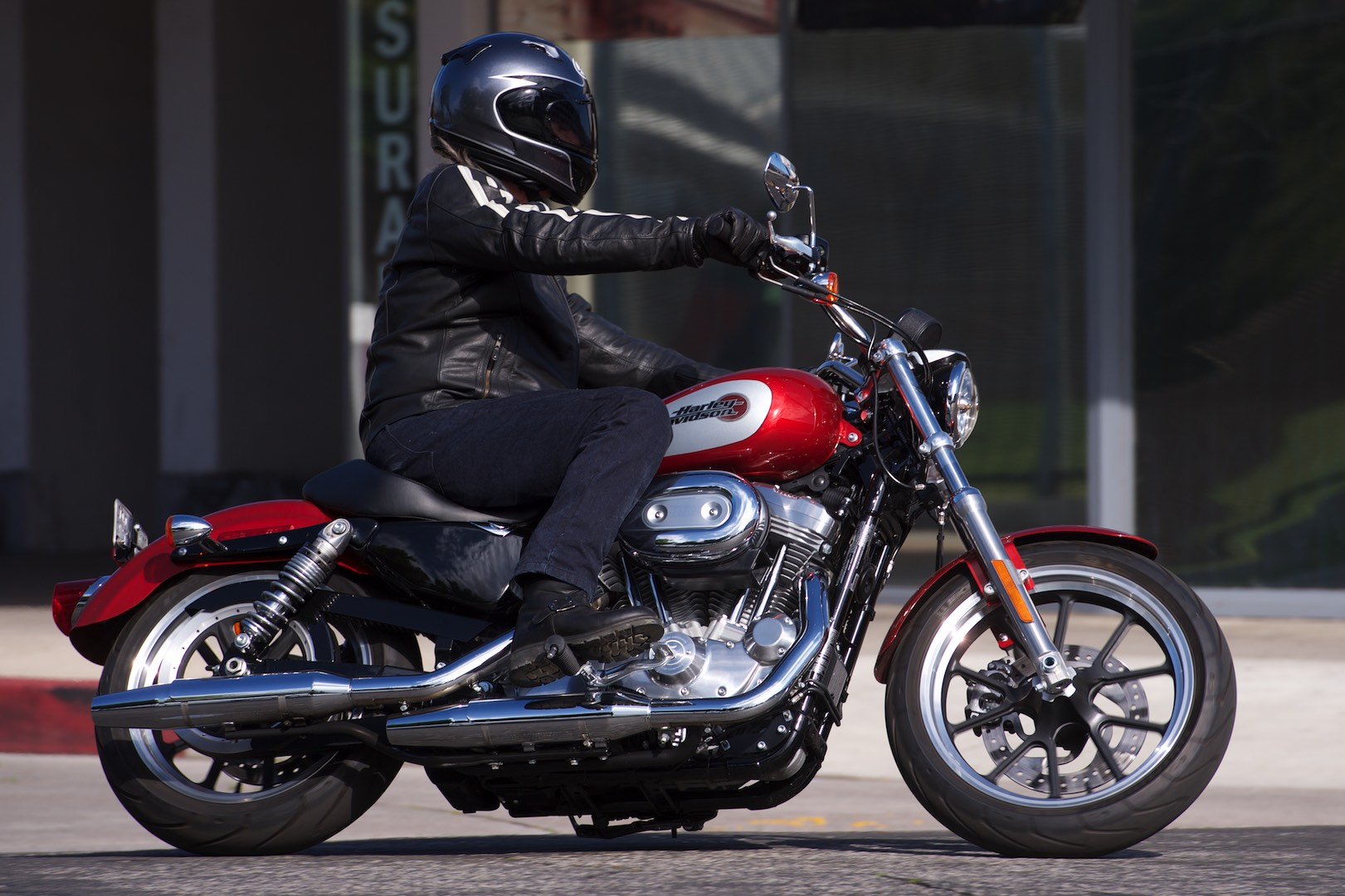 Sportster Superlow test