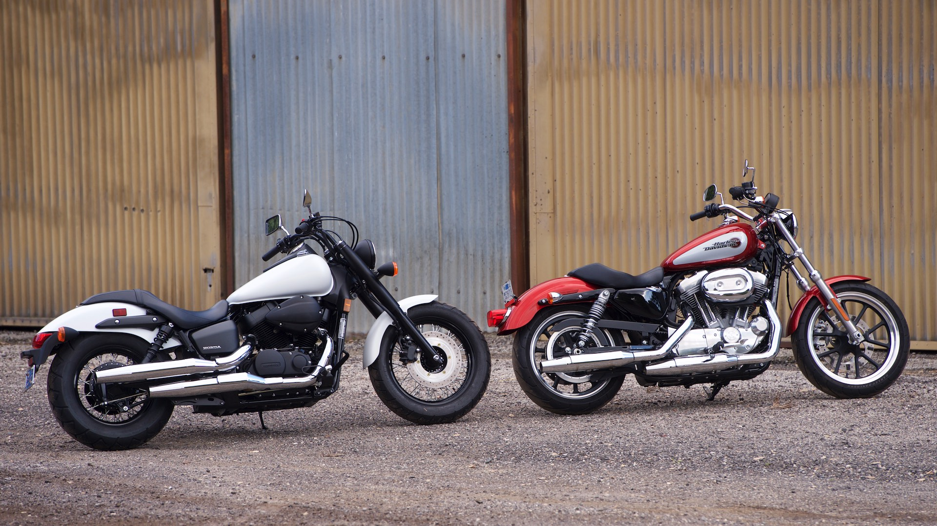 2019 Harley Superlow vs Honda Phantom Shadow