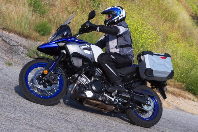 Suzuki V-Strom 1000XT Adventure is a great tourer
