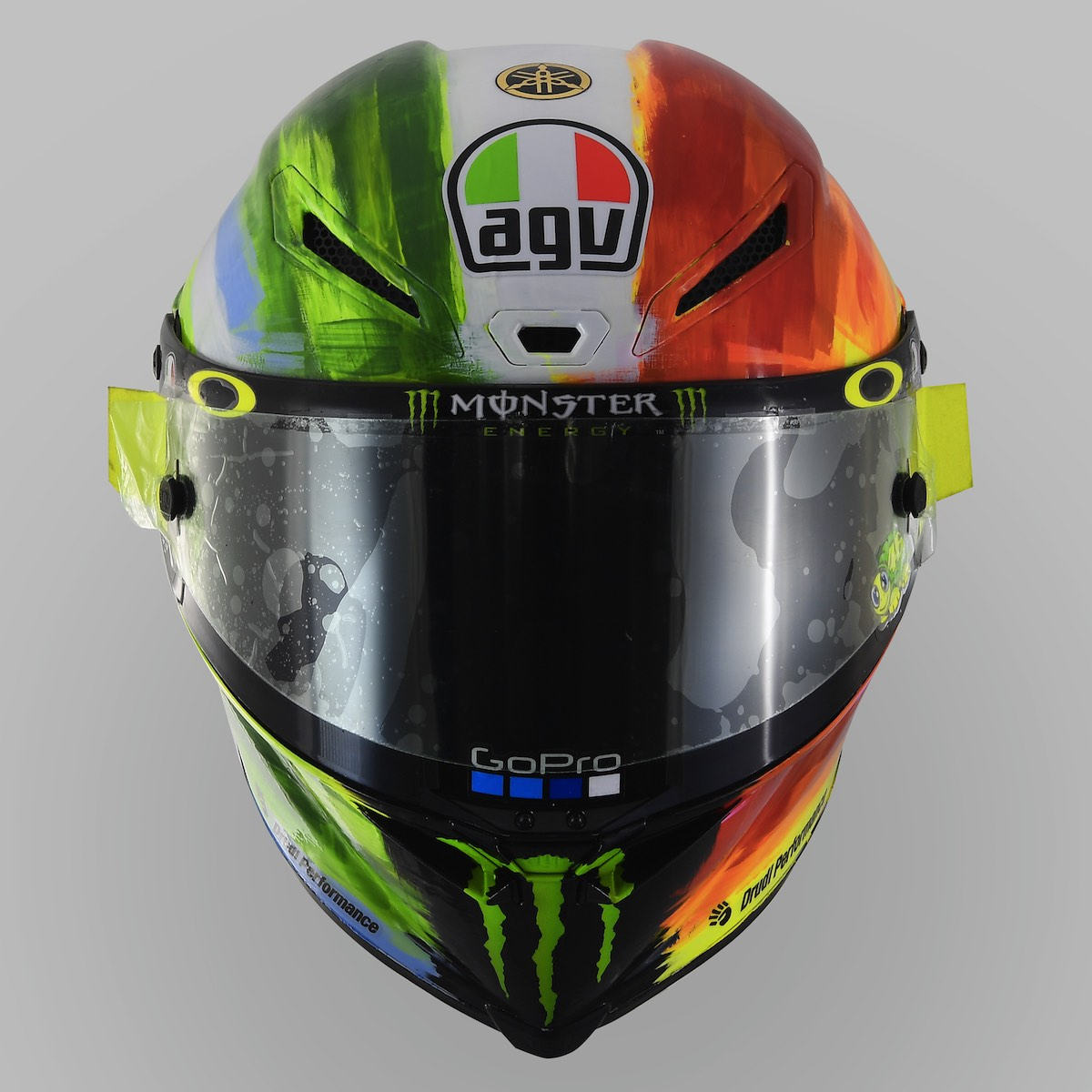 valentino rossi and agv reveal 2019 mugello pista gp r. Black Bedroom Furniture Sets. Home Design Ideas