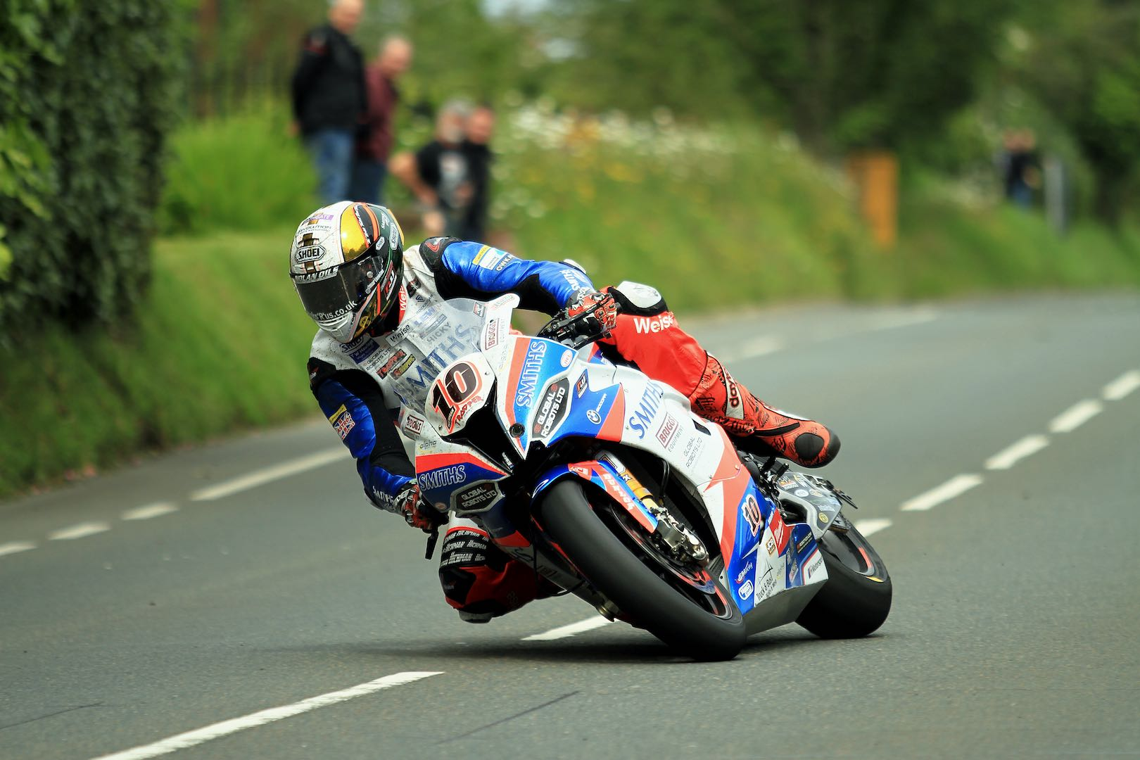 Peter Hickman Aboard BMW S 1000 RR during 2019 TT