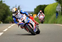 Peter Hickman BMW RST Superbike Race