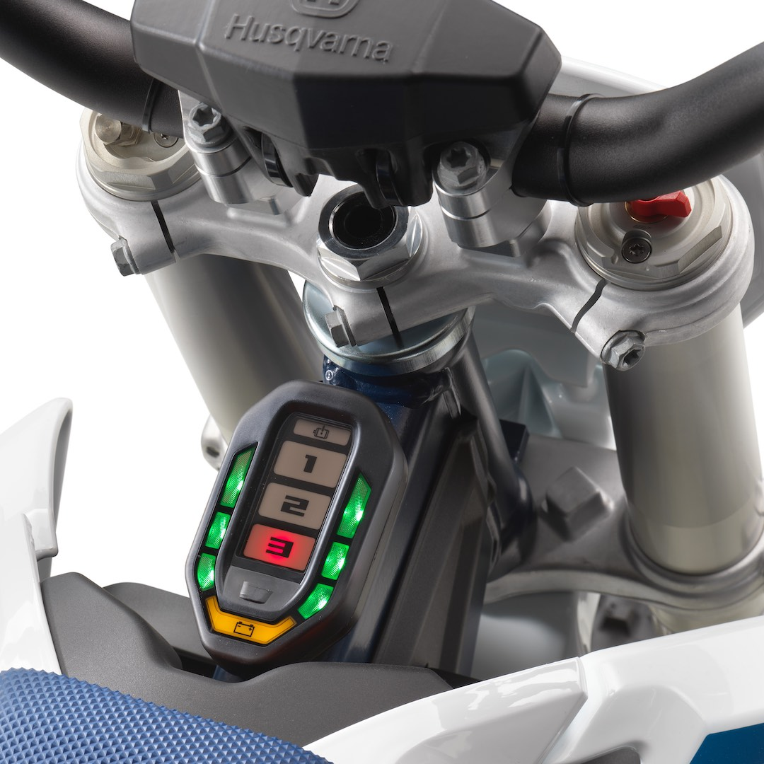 2020 Husqvarna EE 5 First Look - mode selection