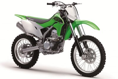 2020 Kawasaki KLX300R First Look - right 3/4