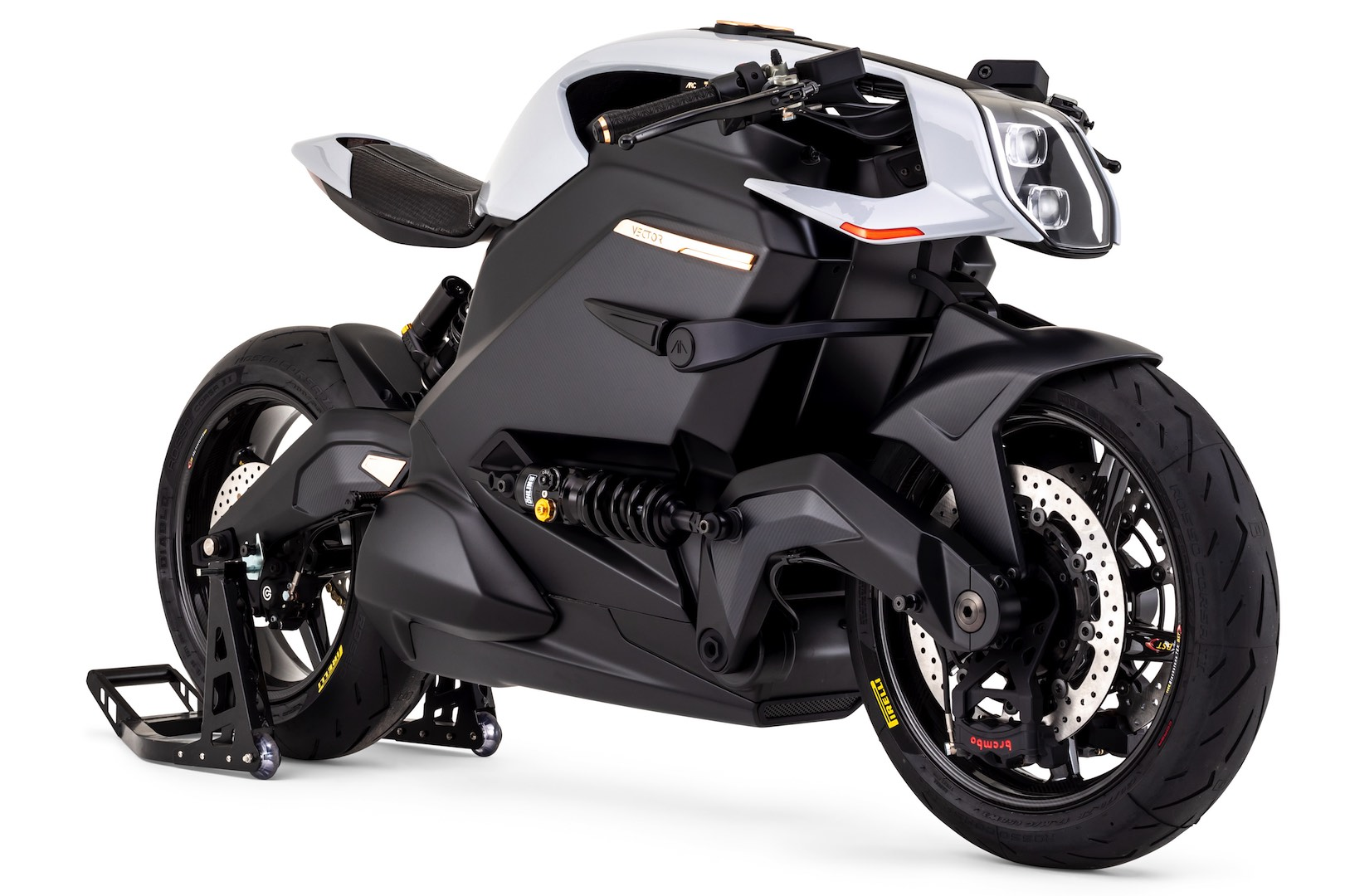 Arc Vector Electric Motorcycle - 3/4 right