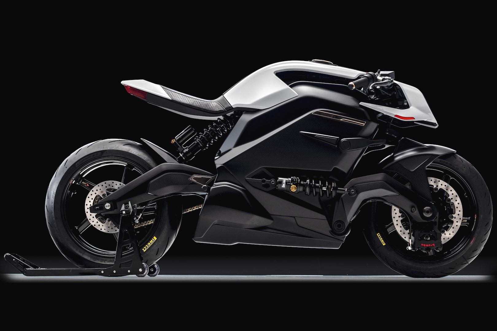 Arc Vector Electric Motorcycle - right profile