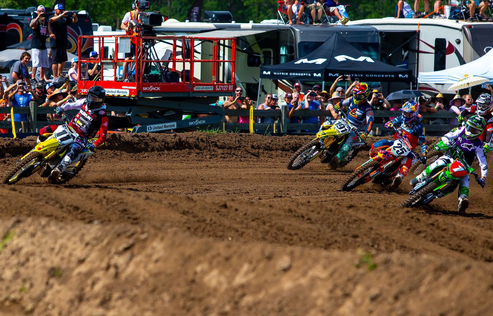 Kyle Chisholm Holeshot Suzuki Factory Racing