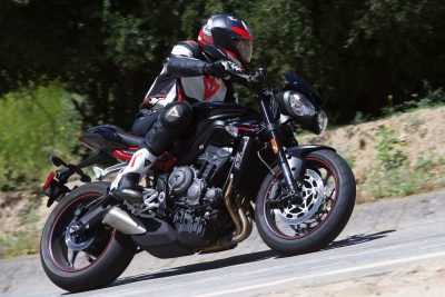2019 Triumph Street Triple Test