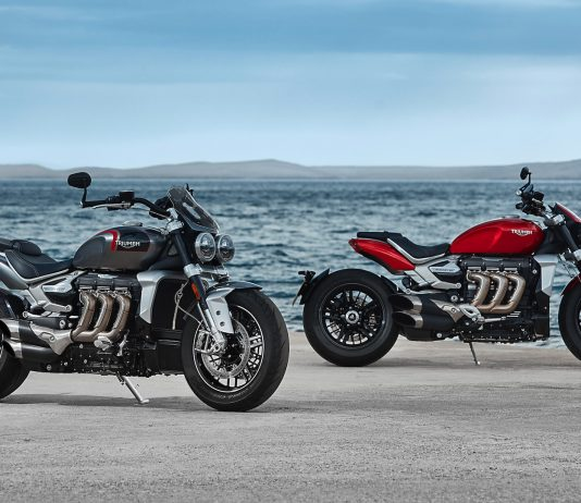 2020 Triumph Rocket 3 R and Rocket 3 GT