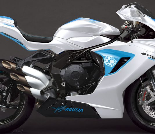 2019 MV Agusta UNICEF F3 800 Side View