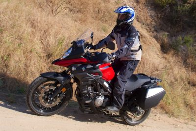 2019 Suzuki V-Strom 650XT Touring Review - left side