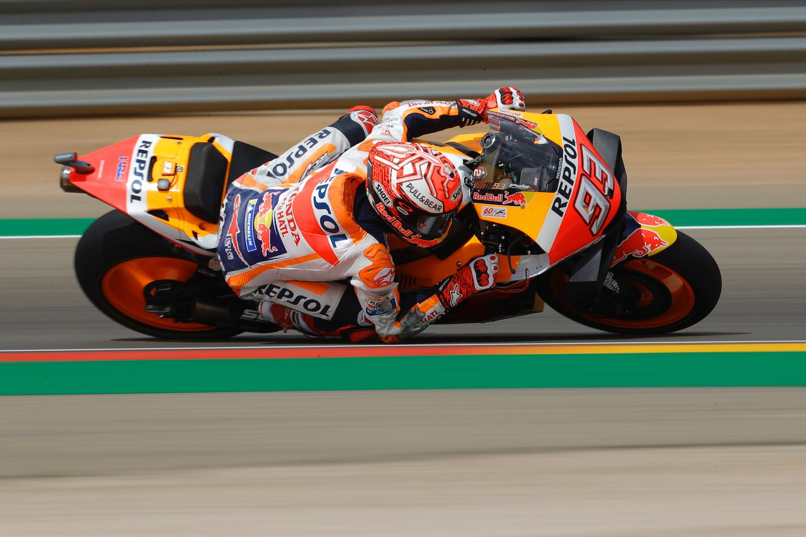 Marquez Tops Aragon MotoGP Friday Practice by 1.1 Seconds