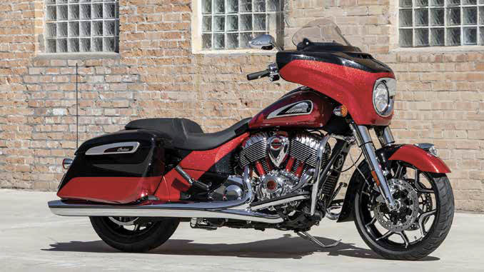 2020 Indian Chieftain Elite Thunder Stroke 116