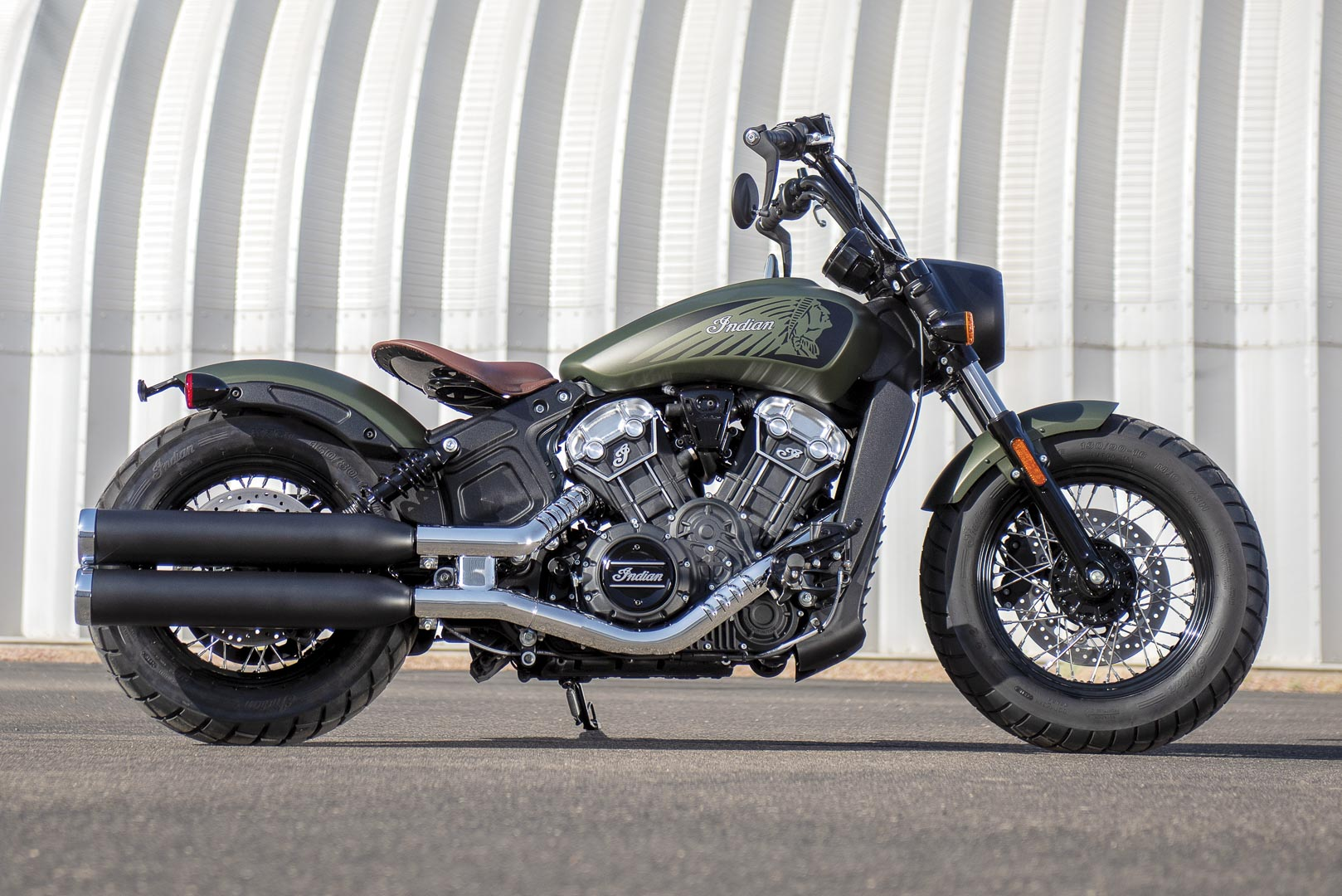 2020 Indian Scout Bobber Twenty + Scout 100th Anniversary ...