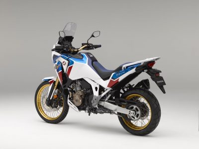 Africa Twin gold wheels 2020