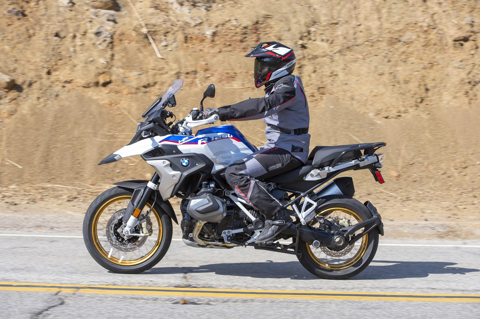 2019 BMW R1250GS on road