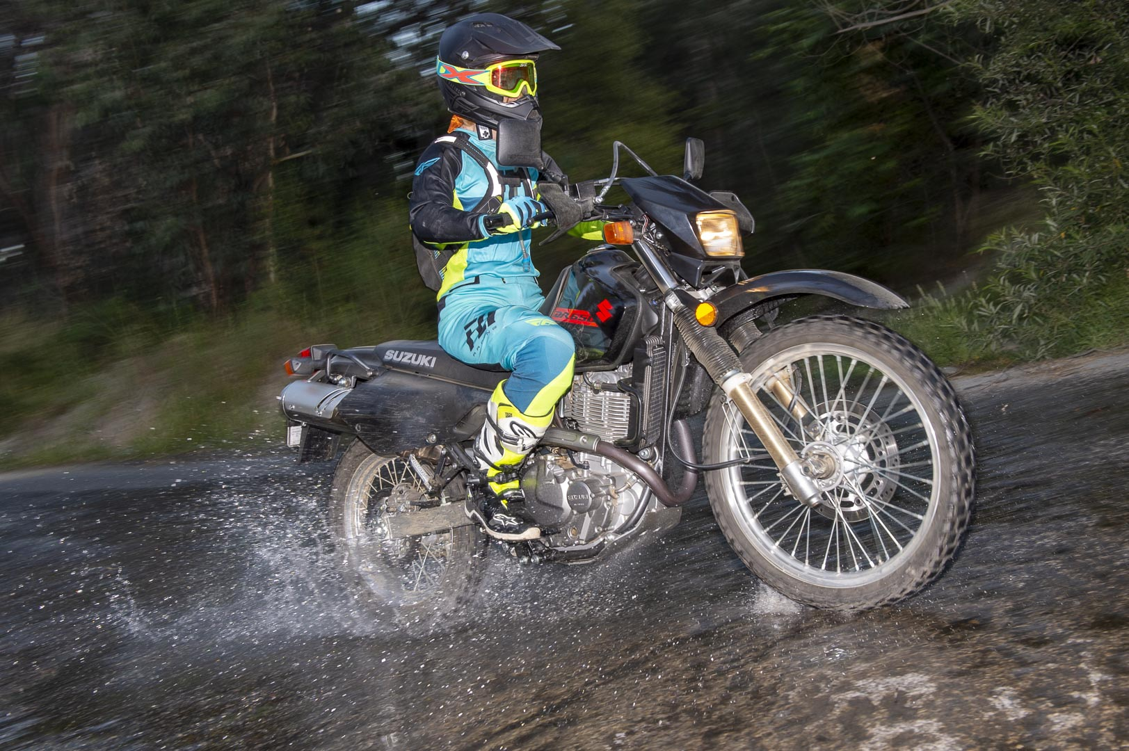 2019 Suzuki DR650S Review - dual sport motorcycle