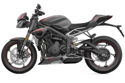 Street Triple RS gas capacity