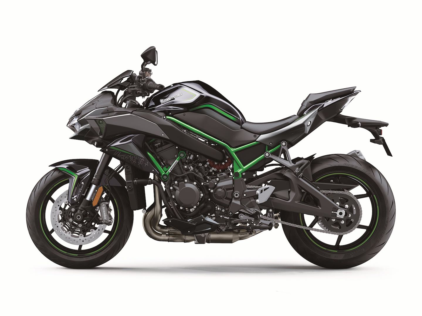 2020 Kawasaki Z H2 Unveiled: Supercharged Naked