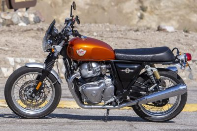 2019 Royal Enfield INT650 test