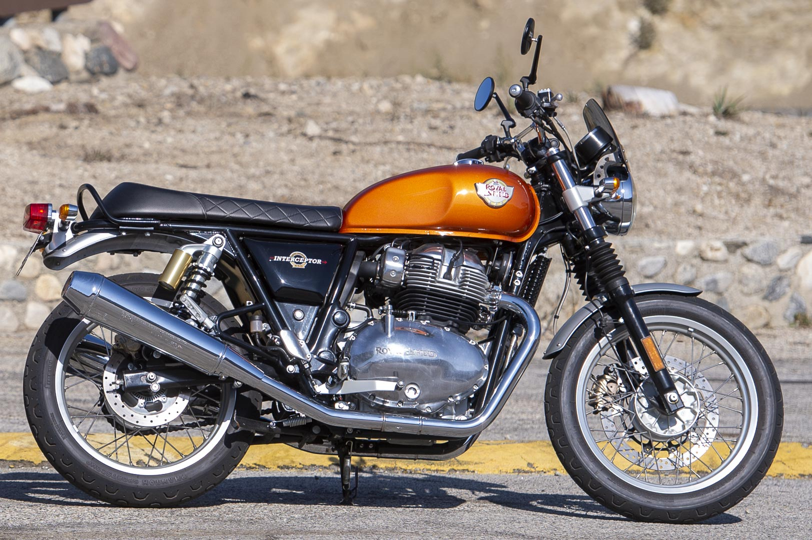 Incredible 2019 Royal Enfield Int650 Commuter Test To Work And Back In Machost Co Dining Chair Design Ideas Machostcouk