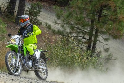 202 Kawasaki KLX230 Review - dirt bike