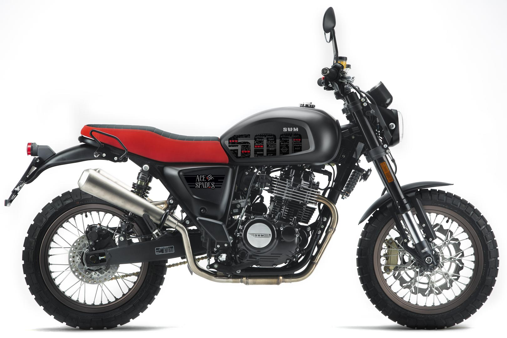 2020 SWM Ace of Spades 500 First Look - restromod